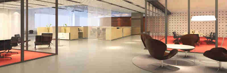 new modern cheap office fitout company Perth