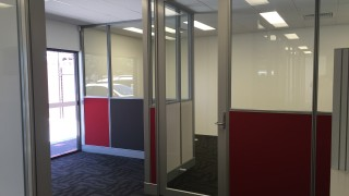half glass half panel Perth