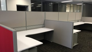 partitions and workstation desks - office fitout Perth WA