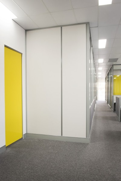 New full height office partitions in Perth