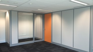 Floor to ceiling office partitions Perth