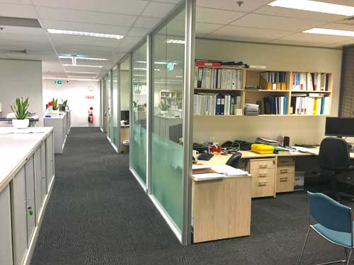Modern office fitout Perth