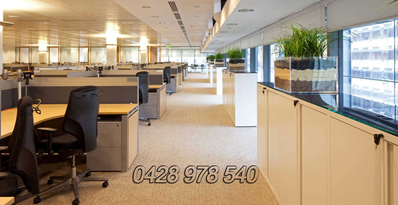 Perth office fit outs.