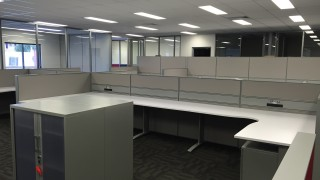 office workstations and partitions