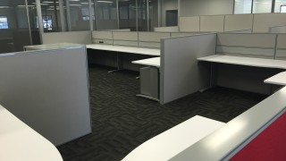 workstations and partitions office fitout Perth